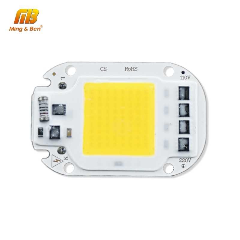 LED COB Lamp Bead 12V 110V 220V 5W 20W 30W 50W LED Chip DIY For LED Floodlight