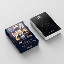 54 шт./компл. постер EXO ломо карты Новая мода фото почтовые милые канцелярские принадлежности подарок