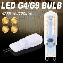 G9 LED Bulb 3W 5W Bombilla Led G4 Corn Lamp 220V Dimmable Light Chandelier Replace 30W 40W Halogen 2835
