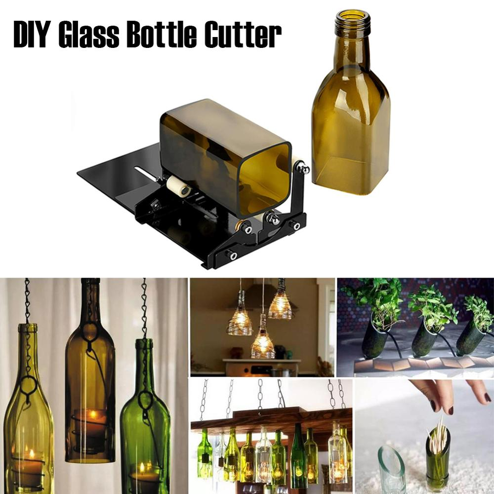 Glass Bottle Cutter Stainless Steel Adjustable DIY Bottle Cutting Machine For Wine/Beer Bottles Dropshipping