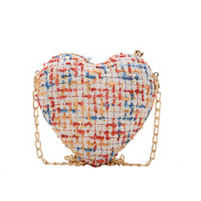 Heart Shaped Women Evening Bags 2019 Chain Shoulder Purse Day Clutches Evening Bags For Party Wedding Bag Beach Gift Girls sac women evening bag gold chain stone high quality day clutches wedding purse party banquet girls messenger bag fashion multicolor