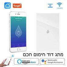Smart Wifi Boiler Schakelaar Boiler Schakelaars Voice Afstandsbediening Israël Il Touch Panel Timer Werk Amazon Alexa Google Thuis