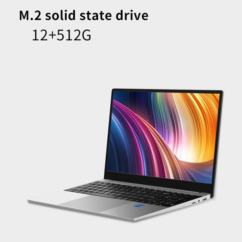 15 6 Inch Gaming Notebook R5 2500U Quad Core 12GB RAM 512GB SSD Windows 10 OS 1920X1080 IPS Laptop for PUBG LOL Dota2