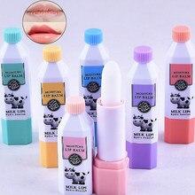 Milch geschmack Lip Balm Frauen Lippen Pflege Kosmetik Nahrhafte Lippenstift Schönheit Essentials Feuchtigkeitsspendende Werkzeuge Lipbalm zufällig Gesendet