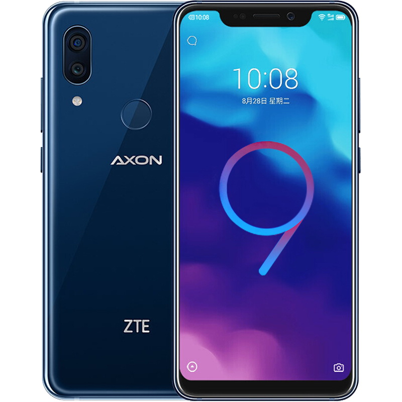 New Original  ZTE Axon 9 Pro  Mobile Phone Octa Core 6G/8G RAM 64G/256G ROM Snapdragon 845 Android 8.1 6.21