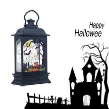 Vintage Lantern LED Light Lamp Portable Decoration for Halloween Party Hanging  Lamp LB88