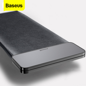Baseus Magnetic Car Organizer Leather Car Storage Auto Pouch Bag Box Pocket Holder For Phone Card Backseat Seat Car Accessories