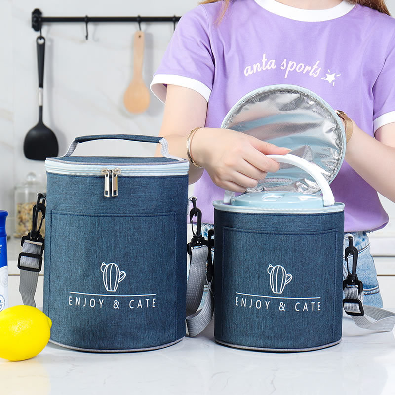 Simplicity Lunch Bag Women Office Luncheon Thermal Package Waterproof Child Outing Fruit Drink Snack Cooler Pouch Accessories