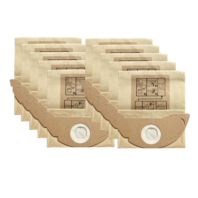 10/5 stuks/veel Stof Filter Papieren Zakken voor Karcher WD2250 A2004 A2054 MV2 Stofzuiger Onderdelen Accessoires Vervanging tas