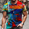 Summer Casual Short Sleeve T-Shirts For Mens  7