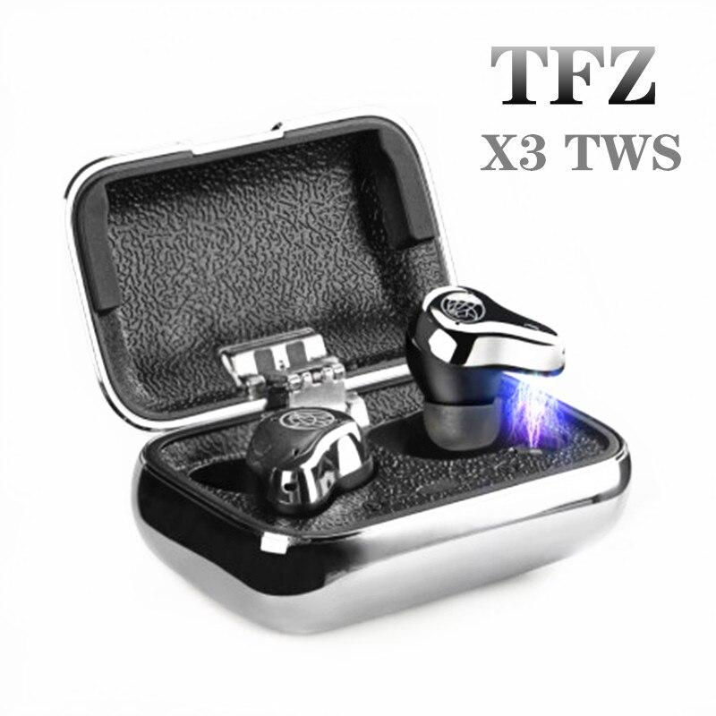 TFZ X3 TWS Bluetooth 5.0 2BA Balanced Armature Waterproof HiFi In-ear Earphone Call Noise X1 X1E O4 O5 O7 AIR LOVE S7 NO.3 B.V2 1