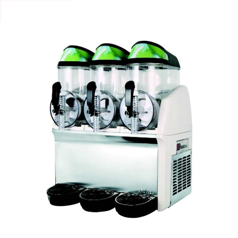 Commercial Cold Drink Machine Three-cylinder Juice Drink Machine Sand Ice Machine Self-service Stirring Snow Mud Machine