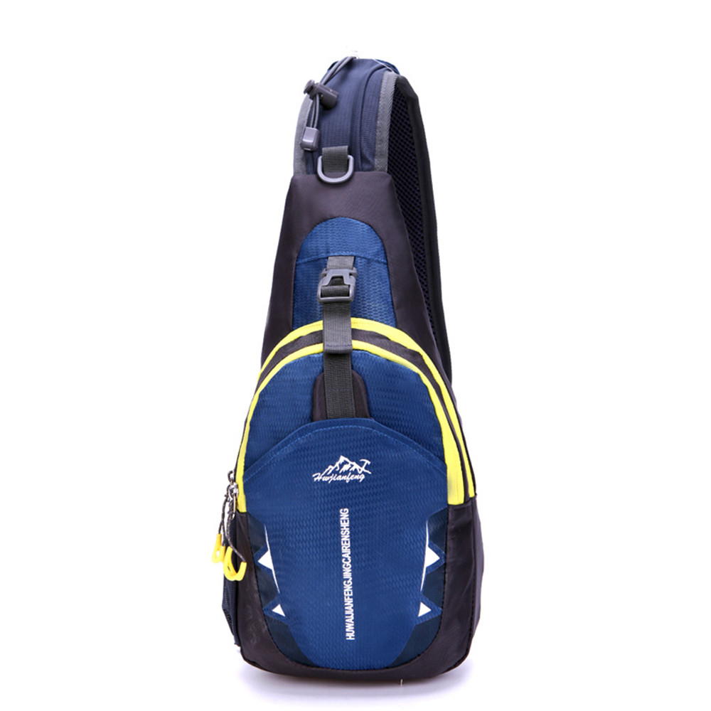 Hot Unisex Sports Running Waterproof Nylon Cross Body Shoulder Belt Chest Bag Casual Gym Bags Sport Bag City Jogging Bags New #e