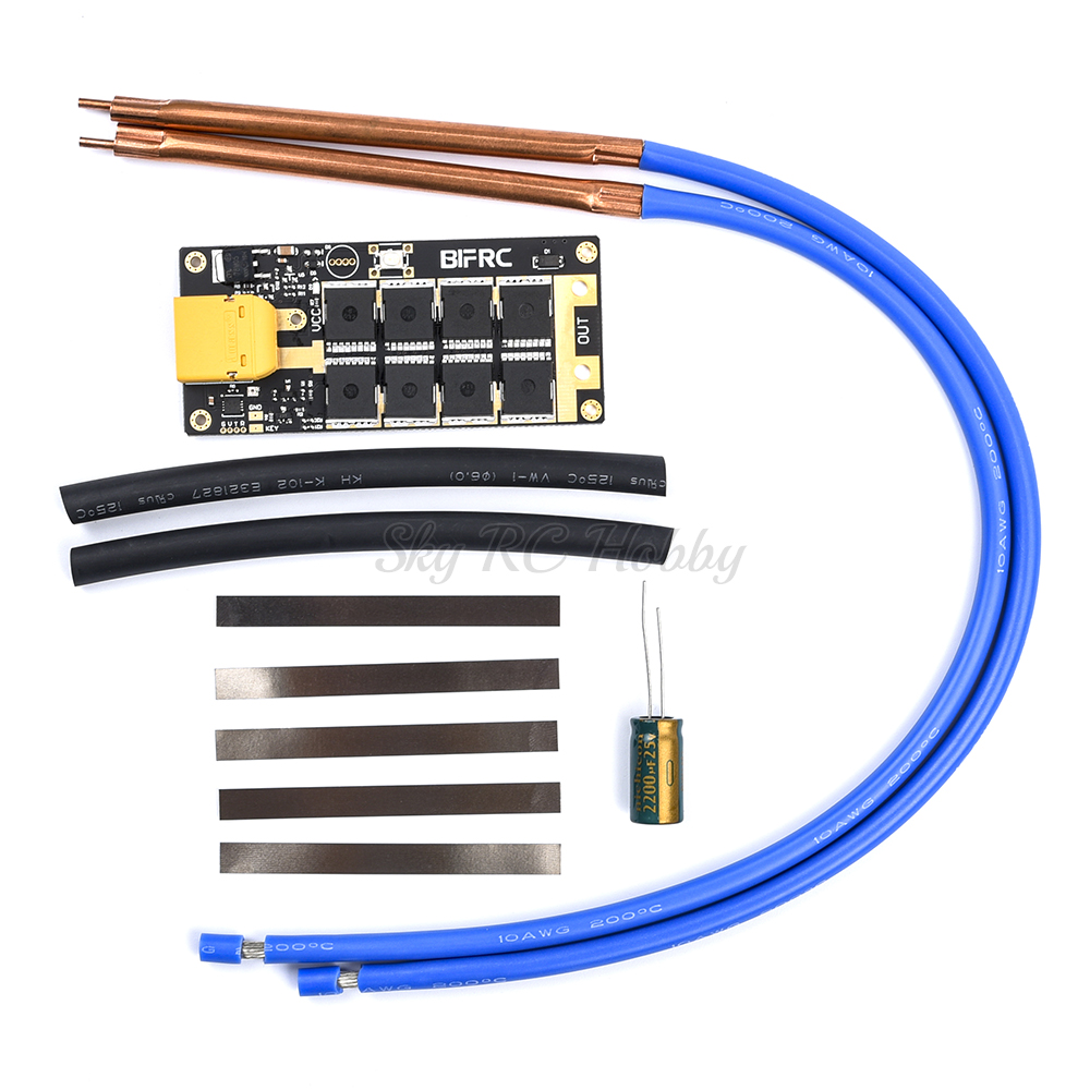 DIY 12V Battery Portable PCB Circuit Board Electronic Energy Storage Spot Welder Machine / Spot Welding Pen For 18650 RC Parts