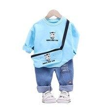 T-Shirt Pants Autumn Baby-Boys-Girls Kids Toddler Children Fashion Cotton Tracksuit Infant