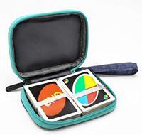Para viajes de llevar UNO Compatible con tarjeta de juego paquete clave Digital producto Cable de auriculares bolsa de almacenamiento (No)
