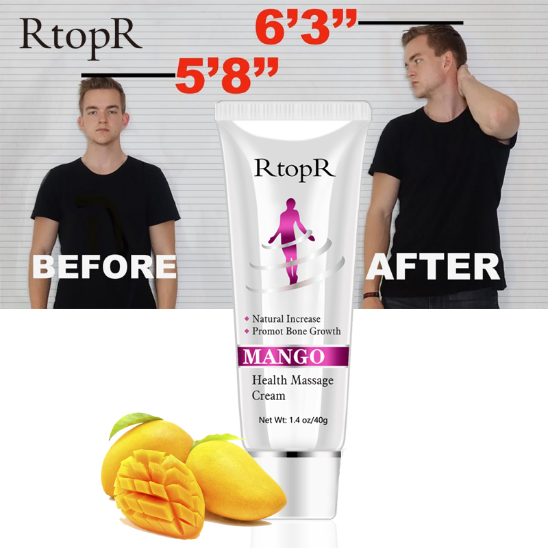 Mango Genuine Height Grow Taller Oil Essential Massage Cream Heighten Product Body Increased Massage Oils Body Cream