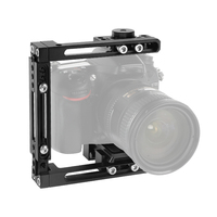 Kayulin Self configuration Half Camera Cage With QR Manfrotto Plate For Nikon D3200 / D3300 / D5200 / D5500 / D7000 / D7100 etc