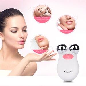 Image 1 - 미니 ems microcurrent 얼굴 리프트 기계 피부 회춘 spa usb 충전식 얼굴 주름 제거제 아름다움 마사지