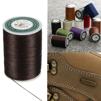 90 Meters Multicolor Sewing Thread Polyester Cord Waxed Leather 0.8mm For DIY Tool Hand Stitching