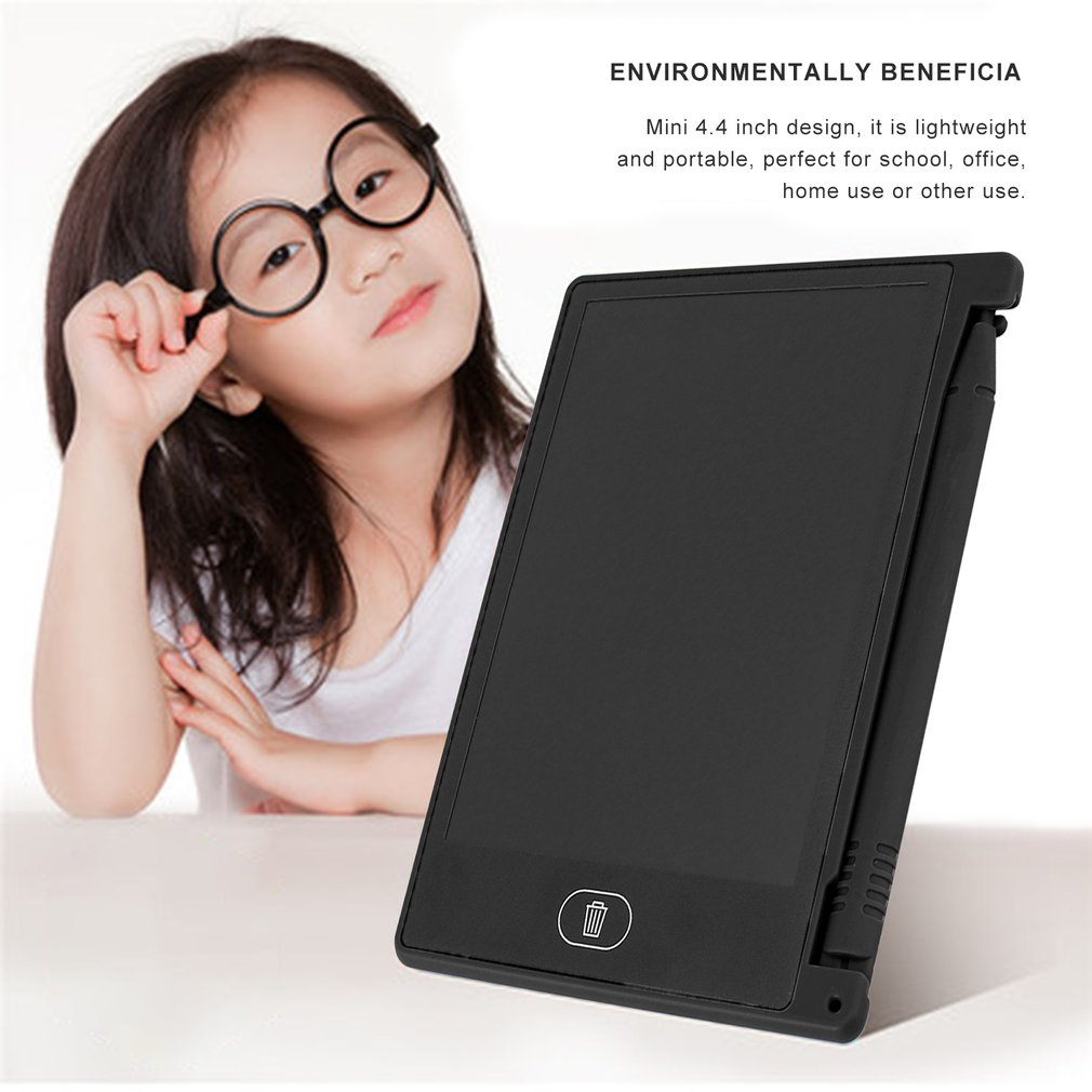 4.4 Inch Mini Writing Tablet Digital LCD Drawing Notepad Electronic Practice Handwriting Painting Tablet Pad Gift For Kids