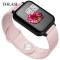 Для женщин и мужчин Смарт Электронные часы Роскошные кровяное давление цифровые часы модные калории спортивные наручные часы DND режим для ...