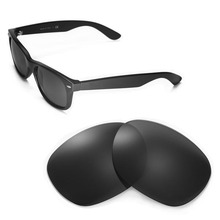 Walleva Polarized Replacement Lenses for Ray-Ban Wayfarer RB