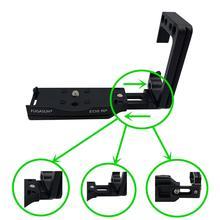 Vertical tiro aperto de mão para eos rp qr liberação rápida l placa para eos rp suporte da câmera suporte para canon eos rp