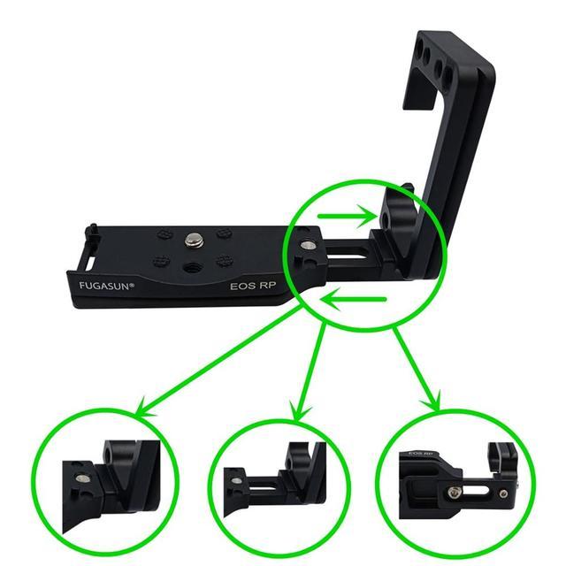 垂直シュート手グリップ eos RP QR クイックリリース L プレート eos RP カメラブラケットホルダーキヤノン EOS RP