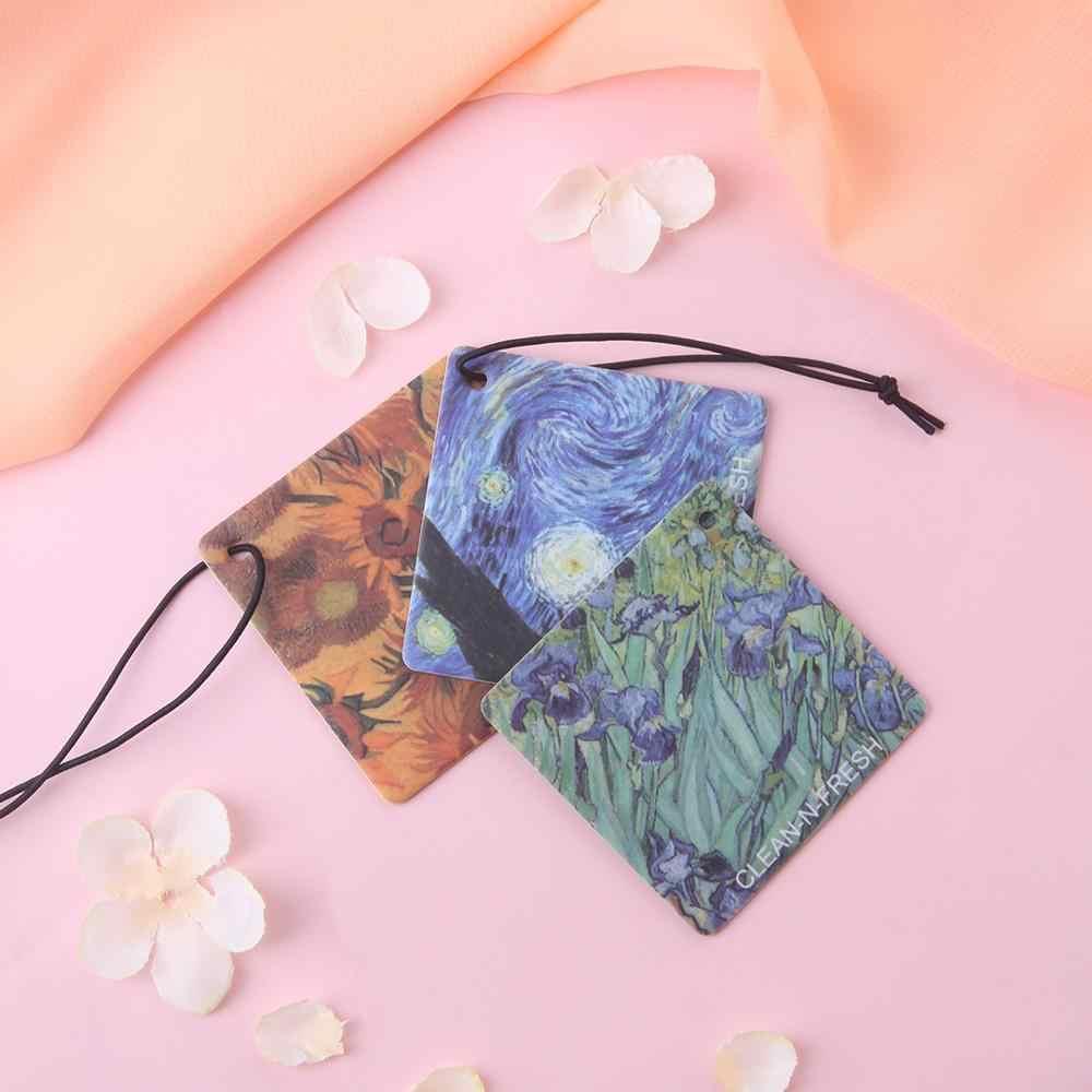 Youpin Clean-N-สดแขวนหอมซองน้ำมันหอมระเหยกระดาษสดสำหรับตู้เสื้อผ้าตู้เสื้อผ้ารถน้ำหอม