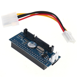 3.5 HDD IDE/PATA to SATA Converter Card Adapter for IDE 40-pin HardDrive Disk