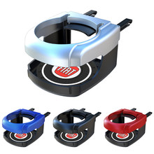 4 Colors Car Air Outlet Drink Cup Holder Accessory With Coaster For fiat punto abarth 500 stilo ducato palio bravo doblo