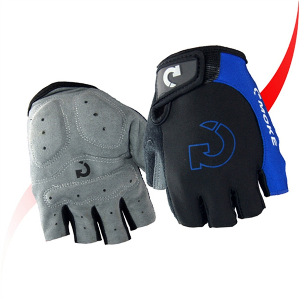 Cycling gloves male half finger bicycle gloves summer mountain bike gloves outdoor riding equipment gloves gel half finger 30N18 (15)