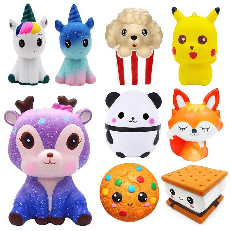 jumbo-kawaii-pop-corn-licorne-gateau-spongieux-beignet-fruits-squishi-lente-augmentation-soulagement-du-stress-presser-jouets-pour-bebe-enfants-charisme-cadeau