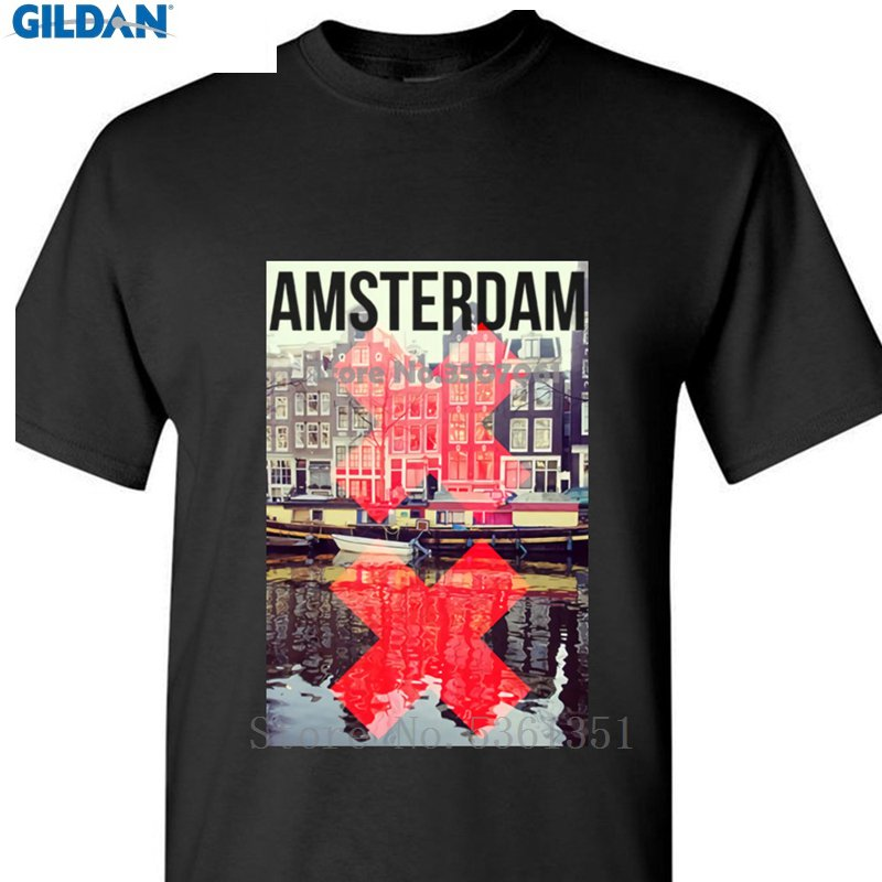 Tokyo Design T-Shirt Retro Flight KLM DC10 Amsterdam