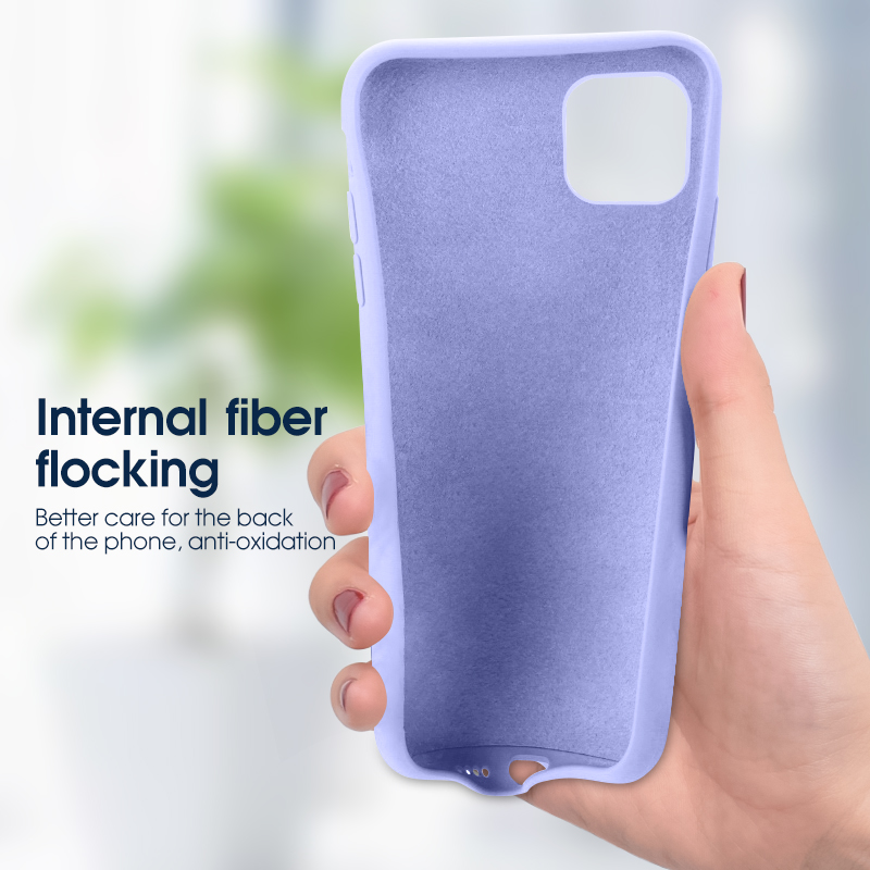 Thin Soft Case For iPhone 11 Pro MAX XR Xs Max X 7 8 6 6s Plus Original Liquid Silicone Candy Color Cover For iPhone 11 Pro MAX