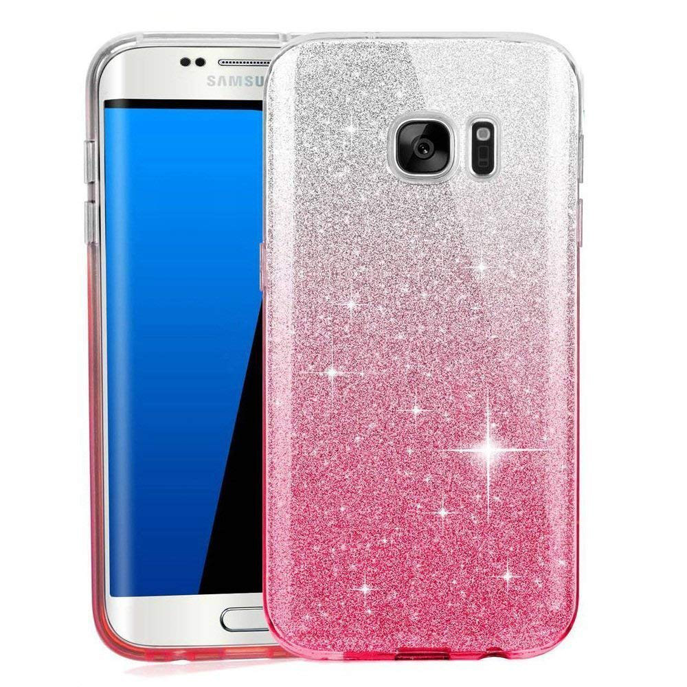 Glitter Soft Silicone Case for Samsung Galaxy J3 J5 J7 Pro Neo NXT A5 2017 j2 J7 Prime 2 A6 A8 Plus J4 J6 J8 J2 Pro 2018 Cover image