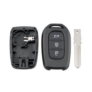 BHKEY для Renault ключ оболочки 3 кнопки дистанционного ключа оболочки для Renault символ трафик для Dacia Sandero Logan, Duster 2013-2018