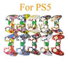 40PCS For PS5 Soft Silicone Gel Rubber Case Cover For SONY Playstation 5 For PS5 Controller Protection Case For PS5 Gamepad
