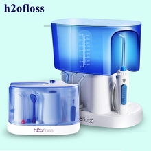 h2ofloss HF-7 Oral Irrigator 5pcs Tips Dental Water Flosser Water Floss 1000ml Oral Hygiene Dental Flosser Water Flossing nicefeel dental flosser water jet oral irrigator 1000ml dental irrigator oral hygiene care oral flossing teeth cleaner irrigator