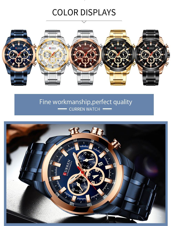 CURREN8361 Watches Men
