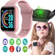 Smart Watches Men Women D20 Girls Smart Watch Blood Pressure Monitor Sports Fitness Bracelet Smartwatch For Apple Xiaomi Android
