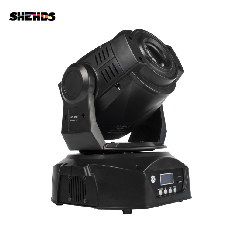 4PCS 30W/60W/90W Gobo Moving Head DJ DMX Stage Lighting Master-Slave Sound Mode Disco Party Led Spot Club Event Russia Spain