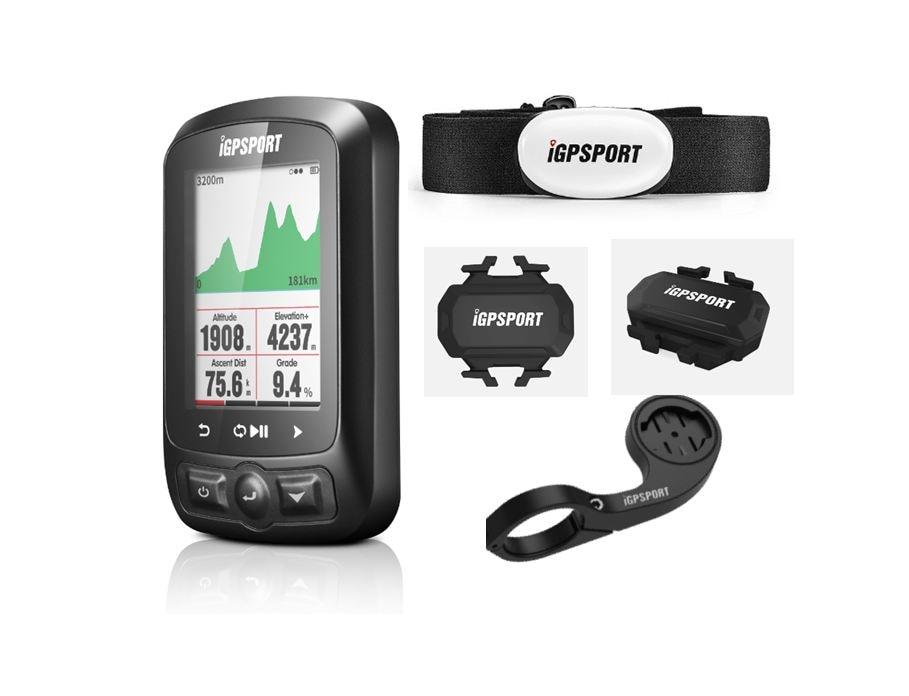 IGPSPORT Fietsen Draadloze Computer ANT + Fiets Snelheidsmeter IGS618 Bike Hartslag Snelheid Cadanssensor Computer Accessoires