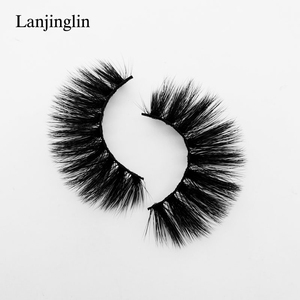 Image 4 - 5 Pairs 3D Eyelashes Hand Made Natural Long Faux Mink Lashes High Quality False Lash book Extensions Maquiagem Makeup cilios