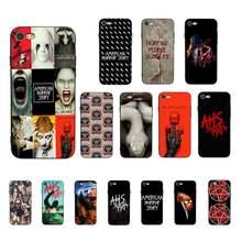 MaiYaCa-funda American Horror Story AHS 1984 para iPhone 11, 12 pro, XS, MAX, 8, 7, 6, 6S Plus, X, 5S, SE, 2020, XR