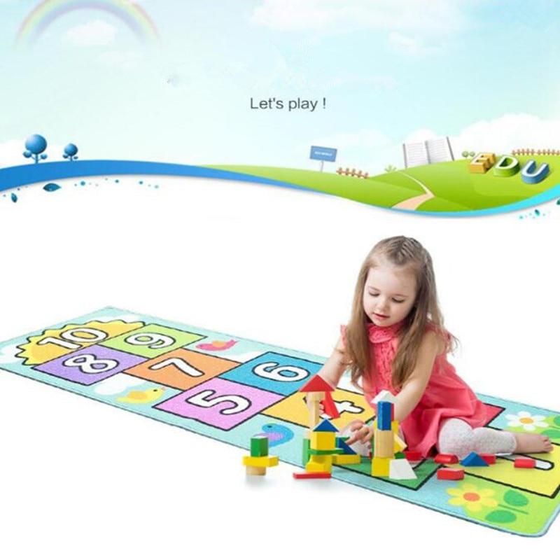 Nombre sautant bébé ramper tapis couverture infantile jouer Gym jeu Pad enfants tapis enfants tapis doux plancher tapis chambre décoration - 2