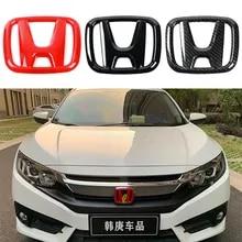 53mm 50mm Steering Wheel Center Emblem For Honda Logo Sticker Civic Accord CRV HRV Fit Jazz City Odyssey Jade Vezel,Blue,50x40mm