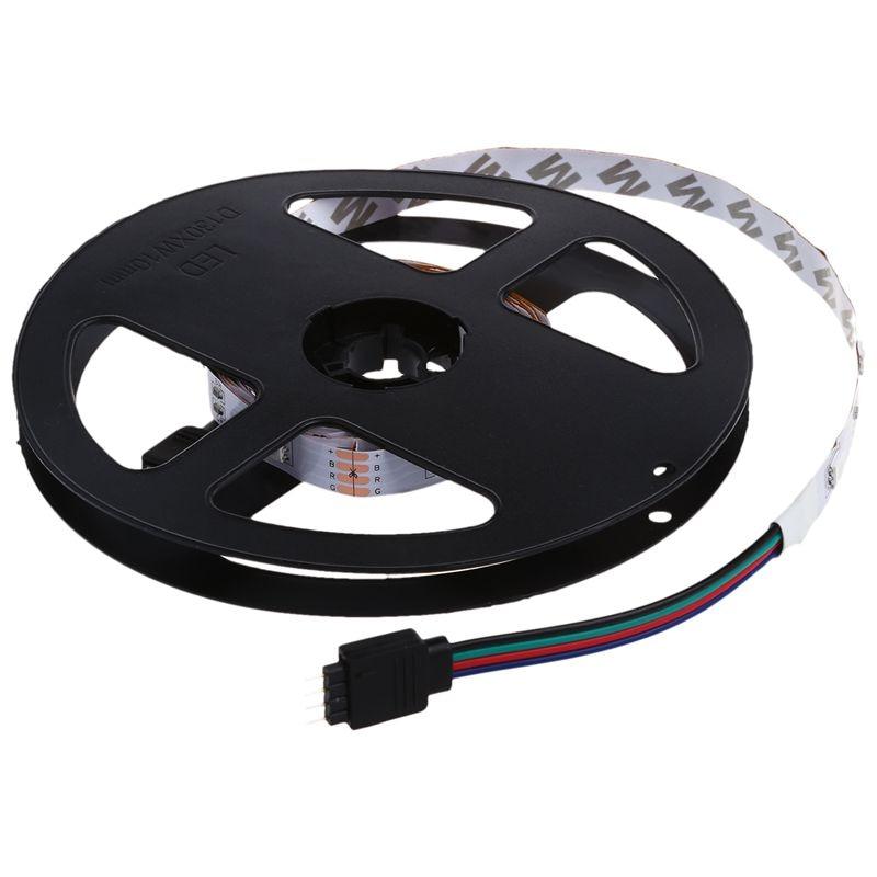 3Meter 5050 SMD RGB Light Strip Strip Strip Band, 30-LED Non-Waterproof + 24-Button Remote Control