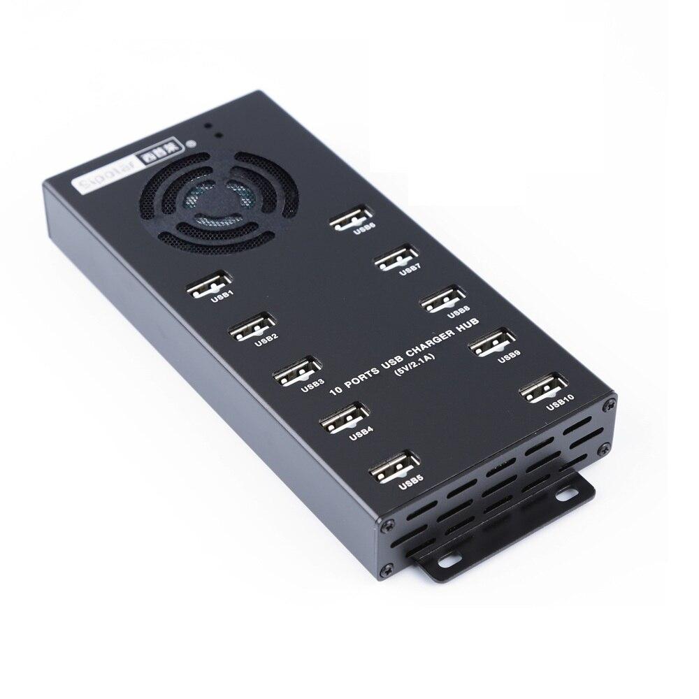 A 400 sipolaire 10 ports USB données et moyeu de charge Multi PORT USB chargeur mural 10A postes de charge intelligents de bureau-in Hubs USB from Ordinateur et bureautique on AliExpress - 11.11_Double 11_Singles' Day 1